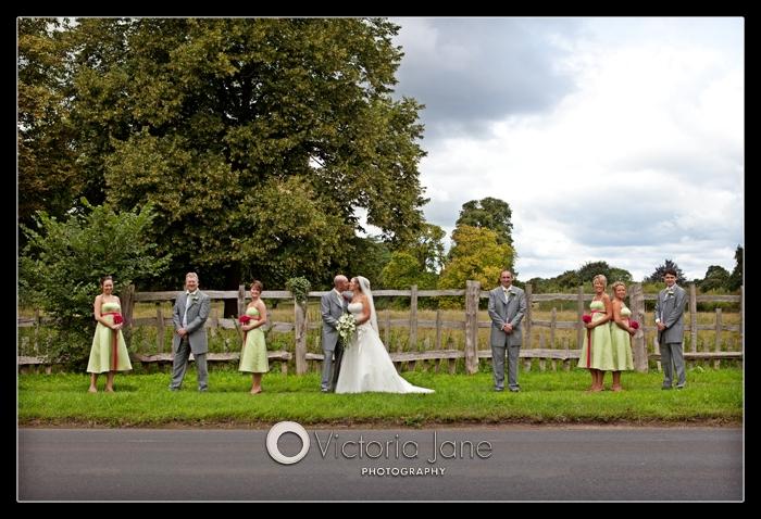 wedding photography at charlecote pheasant hotel