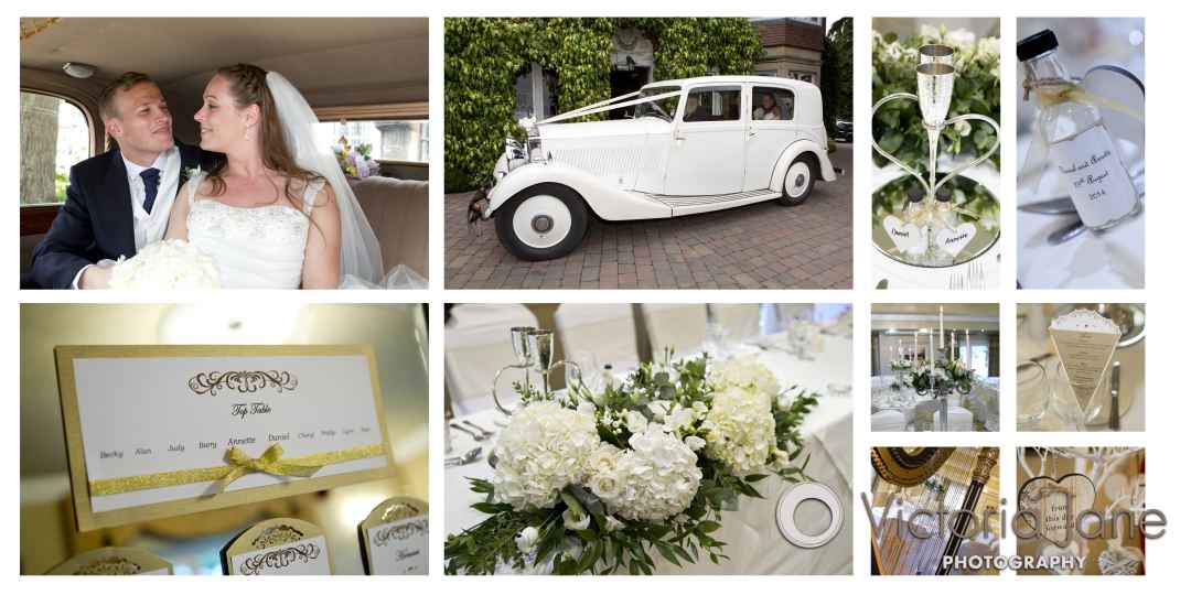 Wedding photography Nuthurst Grange
