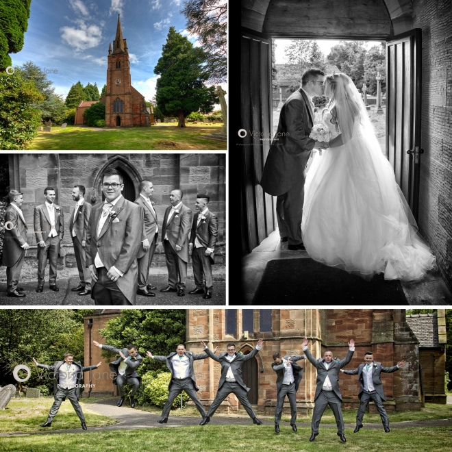 Wedding at st Thomas' Church Coventry