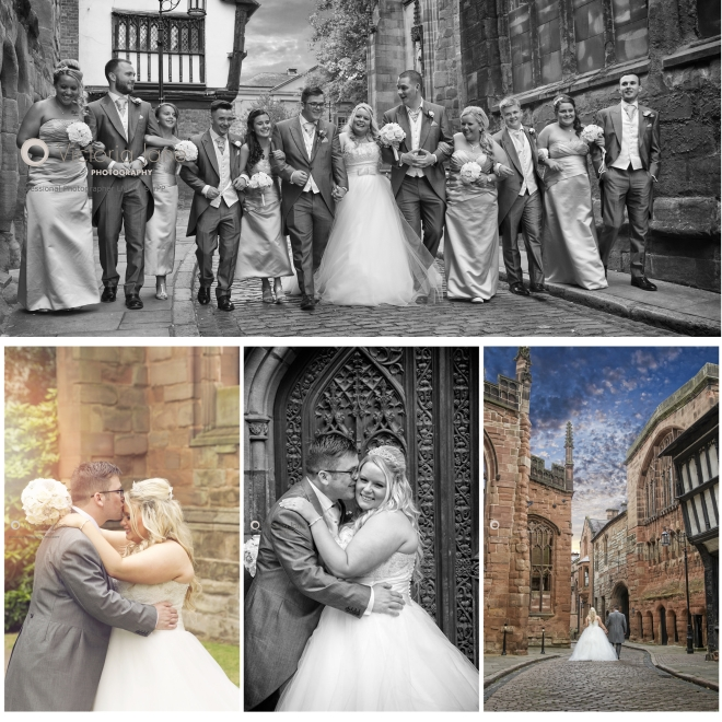 Wedding photography at St Mary's Guild Coventry