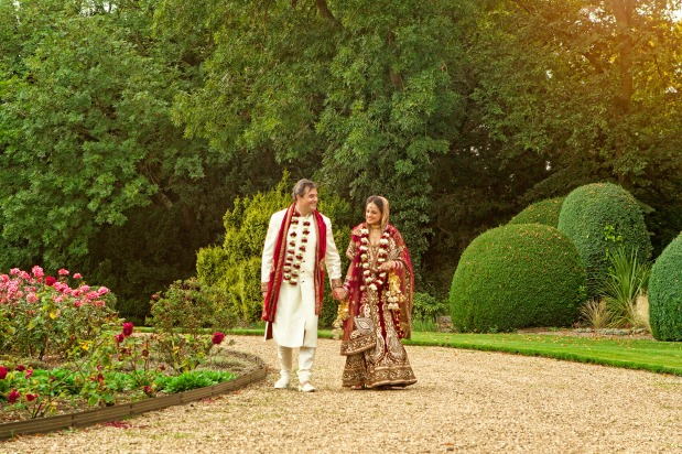Monica & Simon's Sikh Wedding Ceremony at Ragley Hall